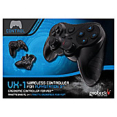 Gioteck VX1 Black Wireless Controller for PS3