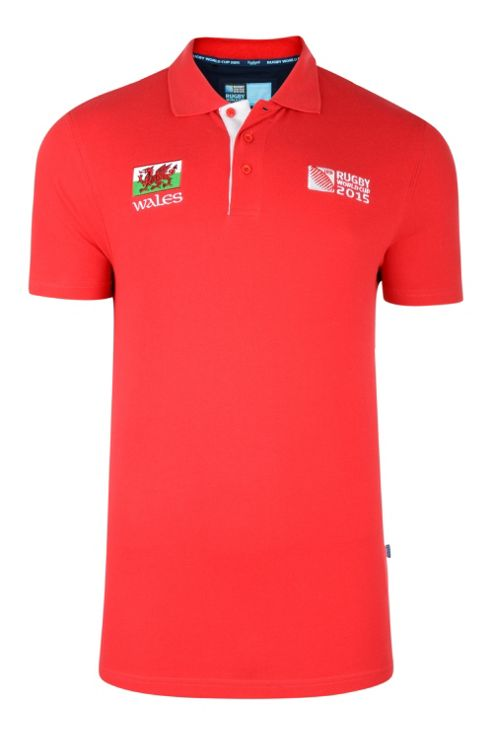 Wales Polo Shirt - Red