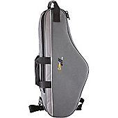 Tom and Will Alto Sax Gig Bag - Three Tone Grey