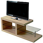 Halo - Chunky Tv / Entertainment Unit / Coffee Table - Oak