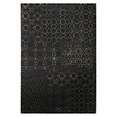 Esprit Hamptons Coffee Brown Contemporary Rug - 80 cm x 150 cm (2 ft 7 in x 4 ft 11 in)