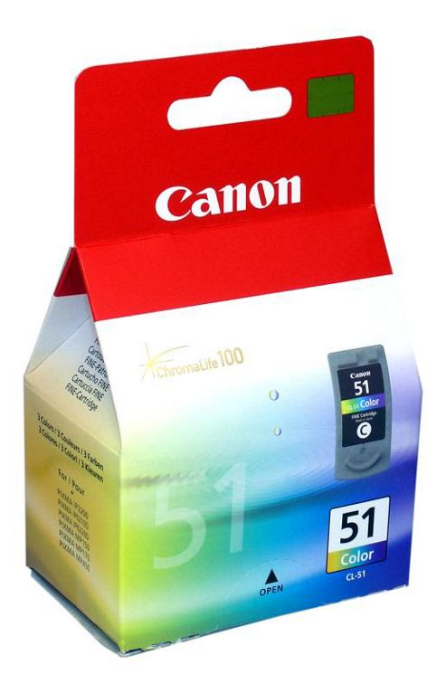 Colour Original Ink Cartridge for Canon Pixma iP1700 (Capacity: 21 ml)