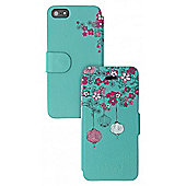 iPhone 5 Folio Case Oriental Design