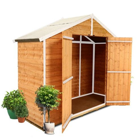BillyOh 400 3 x 8 Windowless Overlap Apex Shed