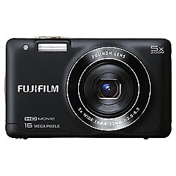 JX660BK 16MP Compact Camera with 5x Optical Zoom in Black