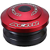 Acor 1.1/8inch Integrated Headset: Red.