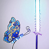 Garden Glows Solar Powered Blue Butterfly Garden Stake Light