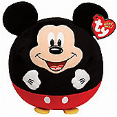 "TY Beanie Ballz 8"" Plush Mickey Mouse"