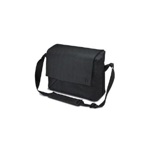 Dicota Code Messenger Bag with Tablet Pocket (Black) for 13 inch to 15 inch Notebooks