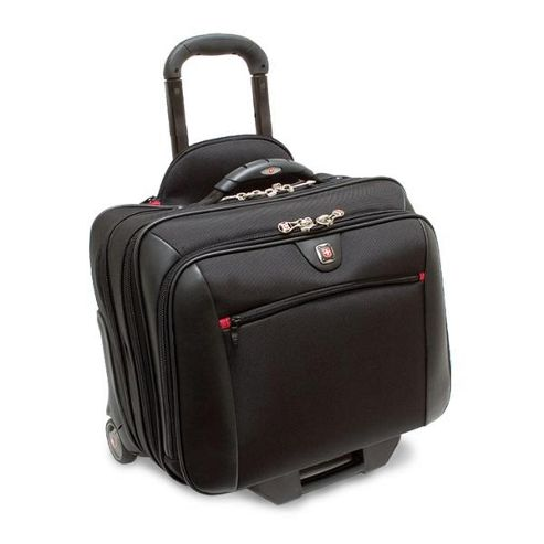 Wenger SwissGear Potomac Wheeled Computer Case (Black) for 15.4 inch Notebooks