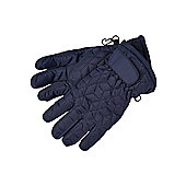 F&F Active Quilted Ski Gloves with Thinsulate™ - Blue