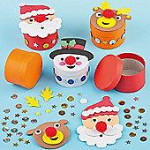 Christmas GiftBoxKits Snowmen Santa Reindeer(3Pcs)