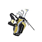 Young Gun Sgs V.2 Junior Kids Right Hand Golf Package Set + Bag Age 3-5 - Yellow