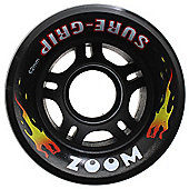 Suregrip Zoom Neon Red 62mm Roller Derby Skate Wheels