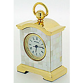 Imperial Clocks Mother of Pearl Bracket Clock