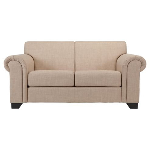 Chester fabric small sofa natural