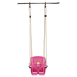 Tesco Safety Baby Swing Pink