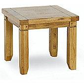 Kelburn Furniture Veneto Rustic Oak Lamp Table