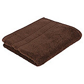 Tesco 100% Combed Cotton Hand Towel Chocolate
