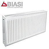 Biasi Ecostyle Compact Radiator 600mm High x 400mm Wide Single Convector