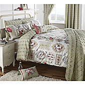 Dreams n Drapes Pretty as a Picture House wife pillow cases (Pairs) - Green