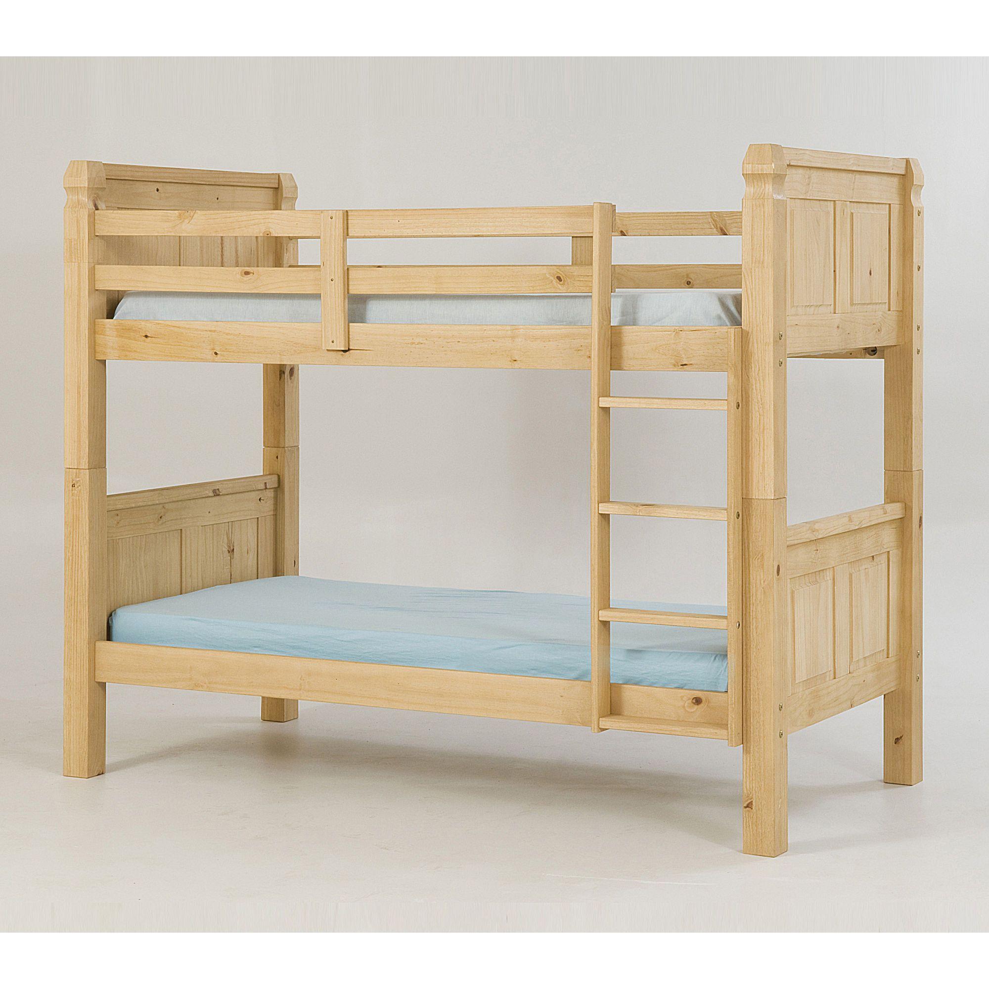 Heartlands Corona Single Bunk Bed Frame at Tescos Direct