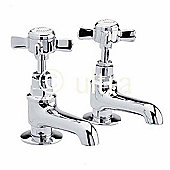 Ultra Beaumont Bath Taps in Chrome