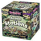 BrainBox action stations Memory Card Game
