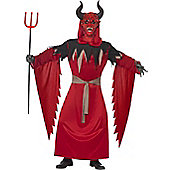 Devil Lord Robe - Adult Costume Size: 38-40