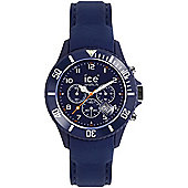 Ice-Watch Ice-Chrono Mens Leather Watch - CH.BE.B.L