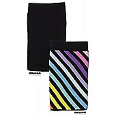 Trendz TZSKDST Striped Diagonal Phone Sock
