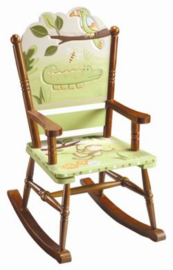 Guidecraft Jungle Rocking Chair