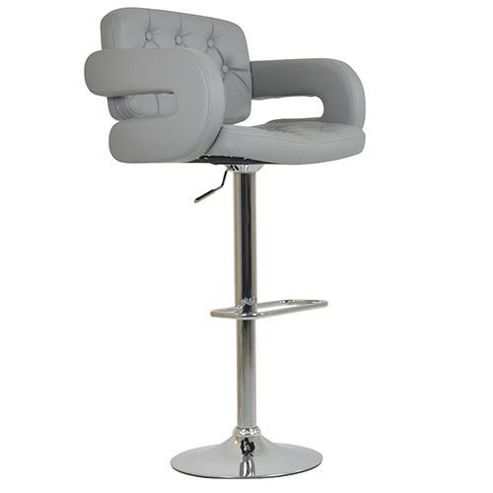 buy chase grey bar stool from our bar tables stools. Black Bedroom Furniture Sets. Home Design Ideas