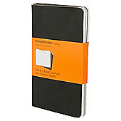 Moleskin Pocket Journal Ruled 3 Pack