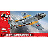 Airfix A02058 De Havilland Vampire T.11 1:72 Aircraft Model Kit