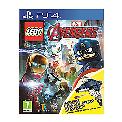 Lego Marvels Avengers Quinjet Minifig PS4