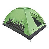 Yellowstone 2-Man Carnival Festival Dome Tent, Green
