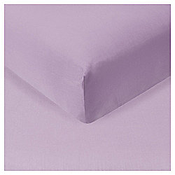 Single Fitted Sheet - Violet