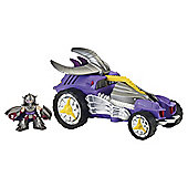 Teenage Mutant Ninja Turtles Half- Shell Heroes Deluxe Shred Tread Vehicle with Shredder