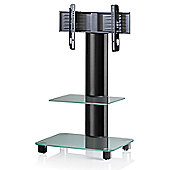 VCM Bilano TV Stand - Black / Frosted
