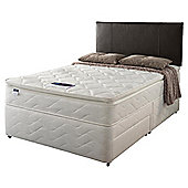 Silentnight Miracoil Pillowtop Fiji Single Non Storage Divan set