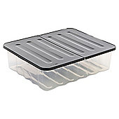 Strata Plastic 30L Underbed Storage Box with Lid