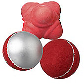 Woodworm Cricket Training Ball 3 Pack