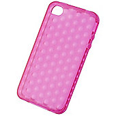 Tortoise™ Soft Gel Case iPhone 4/4S Raindrop Pink
