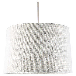 Tapered Drum Knitted Lamp Shade, Grey