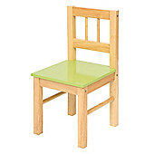 Bigjigs Toys BJ365 Wooden Chair (Green)