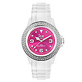 Ice-Watch Ice-Pink Unisex Stone Set Watch - IPK.ST.WPK.U.S.12