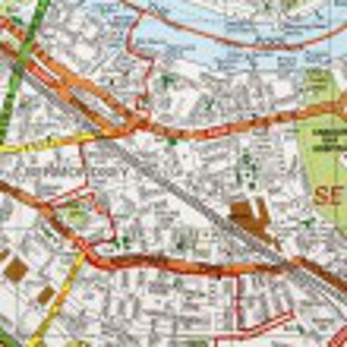 Gift Wrap - London Map