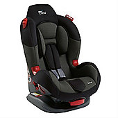 Tippitoes Junior Crew 1,2 Car Seat (Black/Grey)
