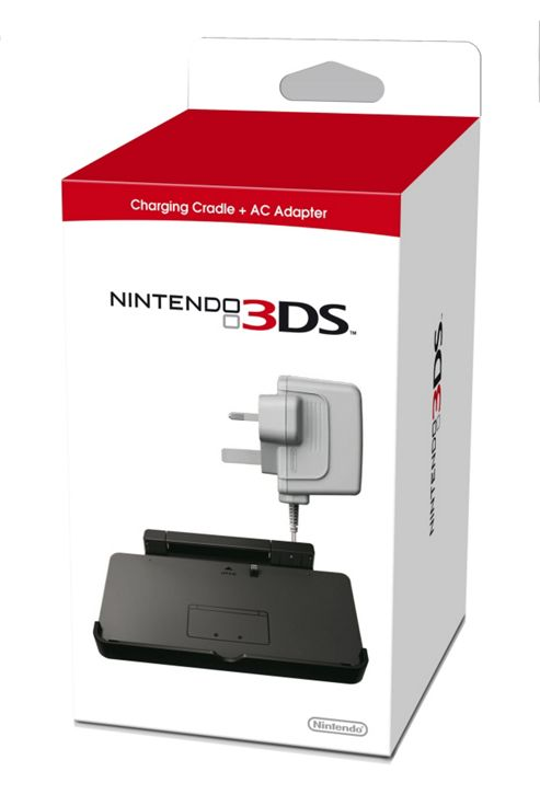 3DS Cradle Charger & AC Adaptor